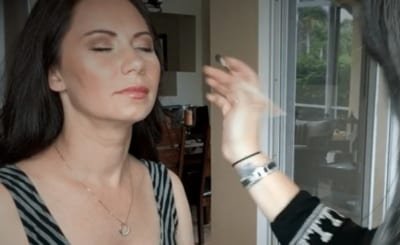Makeup Application for Baby Shower