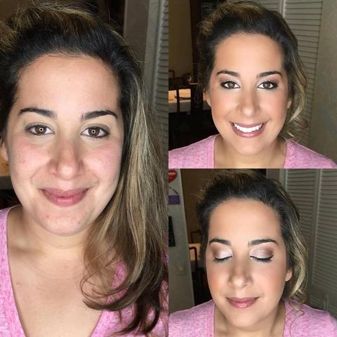 Before and After Makeup Services in South Florida