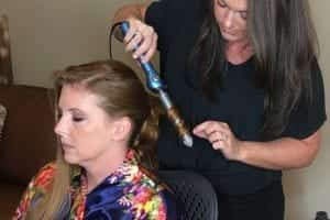 At Work Hair Styling with April