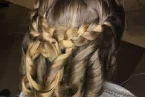 Flower Girl Braided Halfup Halfdown