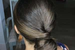 Low Bridal Bun Hair Style
