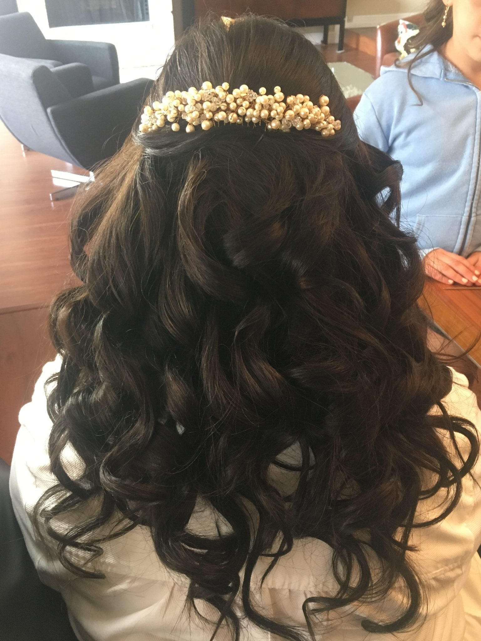 Volume Curls HairStyling